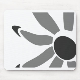 Groovy Graphic Bloom Mouse Pads