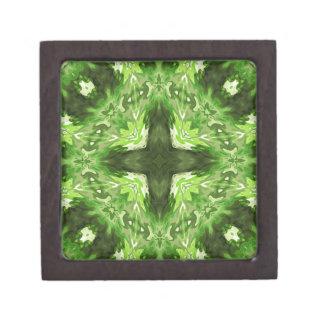 Groovy Green Graphic Premium Jewelry Box
