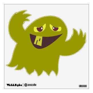 Groovy Green Monster Wall Sticker