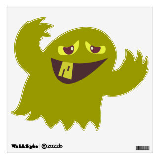 Groovy Green Monster Wall Graphic