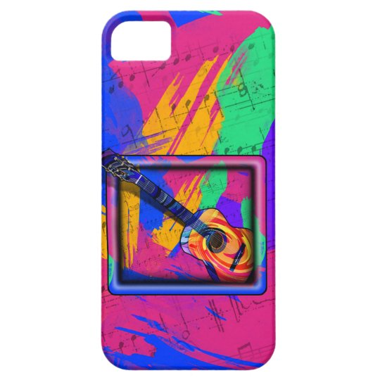 GROOVY GUITAR iPhone SE/5/5s CASE
