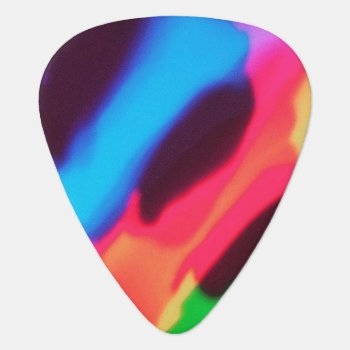 Groovy Guitar Pick by For_the_Poetic_Mind at Zazzle
