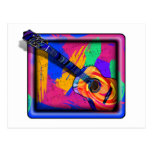 GROOVY GUITAR POST CARDS