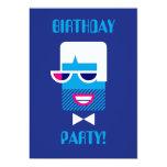 "Groovy Guy 5"" X 7"" Invitation Card"