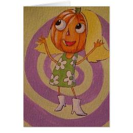 Groovy Halloween Card