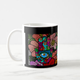 Groovy Hamsa Garden Coffee Mug