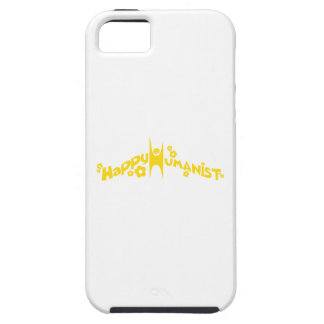 Groovy Happy Humanist Gold iPhone 5 Cases