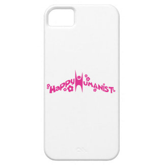 Groovy Happy Humanist Pink iPhone 5 Covers