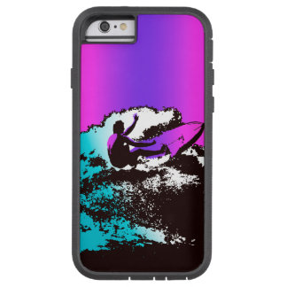 Groovy Hawaiian Surfer 1960s Retro Graphic Tough Xtreme iPhone 6 Case