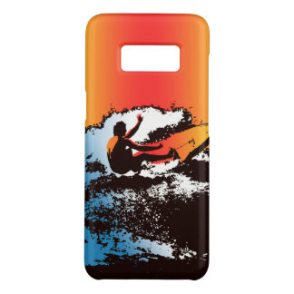 Groovy Hawaiian Surfer 1960's Retro - Red Case-Mate Samsung Galaxy S8 Case