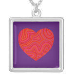Groovy Heart Necklace
