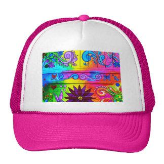 groovy hippie hat