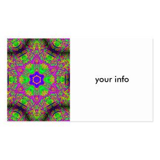 groovy hippie-style business card