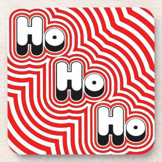 Groovy Ho Ho Ho! Drink Coaster