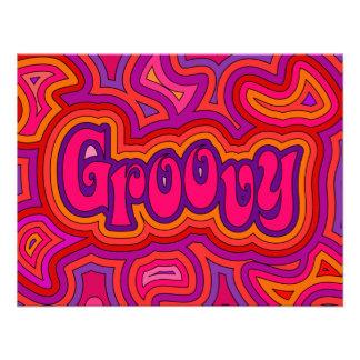 Groovy Invitation/Annoucement