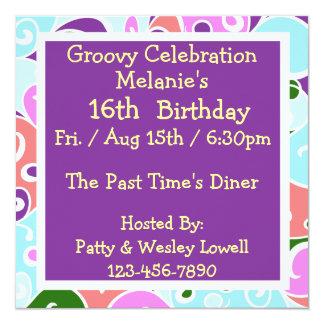 Groovy Invitations