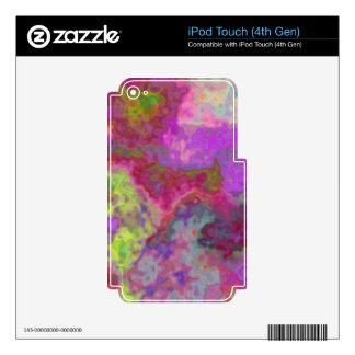 Groovy iPod Touch 4G Skins