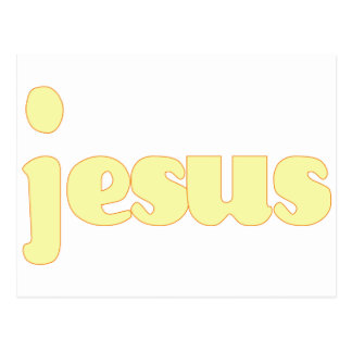 Groovy Jesus (Yellow) Post Cards