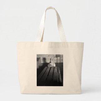 Groovy Job: 1941 Jumbo Tote Bag