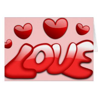 Groovy Kinda Love Greeting Card