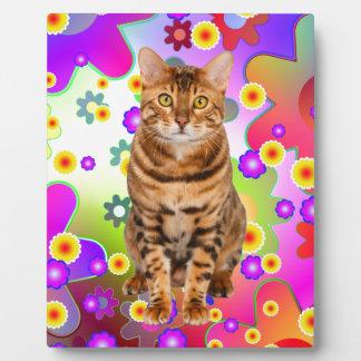 Groovy Kitten. Bengal Cat Plaque