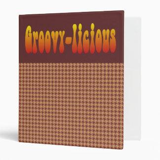 Groovy-Licious Binder