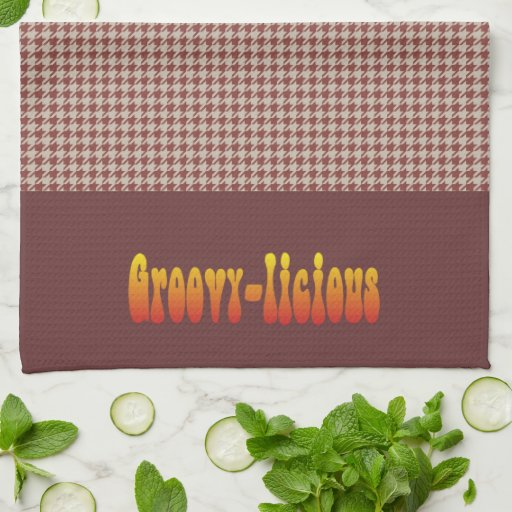 Groovy-licious Towels