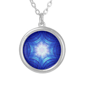 Groovy Magen Silver Plated Necklace