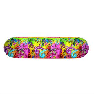 groovy magic mushroom skateboard
