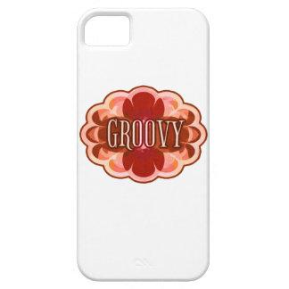 """Groovy"" Mocha iPhone 5 Covers"