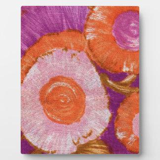 Groovy, Mod Purple Swirl Plaque