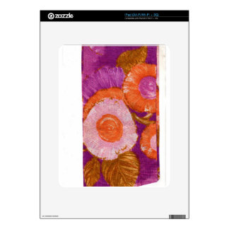 Groovy, Mod Purple Swirl Skin For The iPad