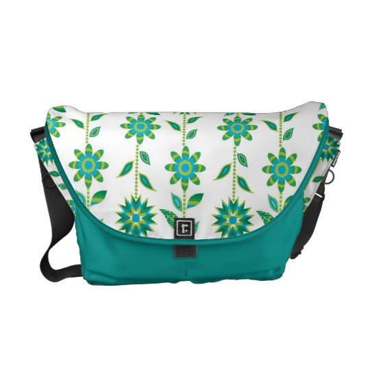 Groovy Mod Retro Floral Bag