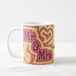 Groovy Mr & Mrs Mug