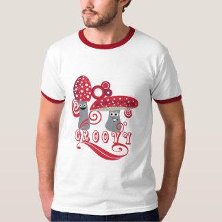 Groovy Mushroom Character T-shirt