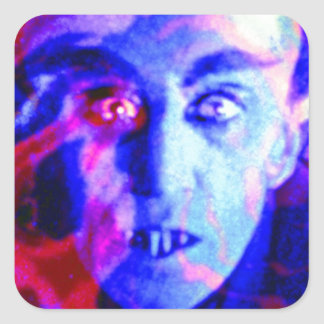 Groovy Nosferatu Square Sticker