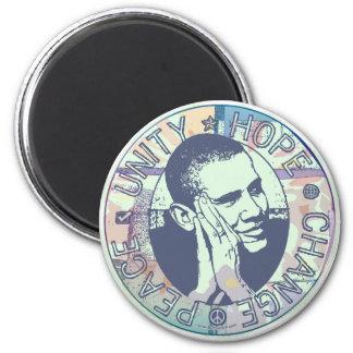 Groovy Obama 2008 Gear Magnet