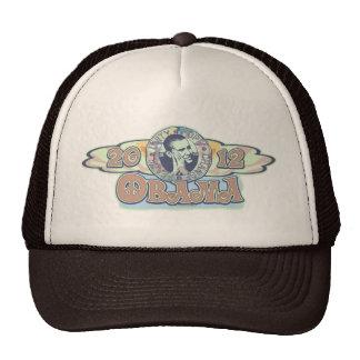 Groovy Obama 2012 Gear Trucker Hat
