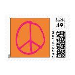 Groovy Orange Stamps