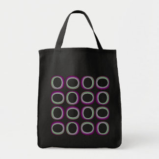 Groovy O's Grocery Tote Bag