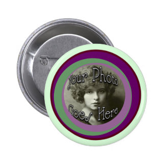Groovy O's 2 Inch Round Button