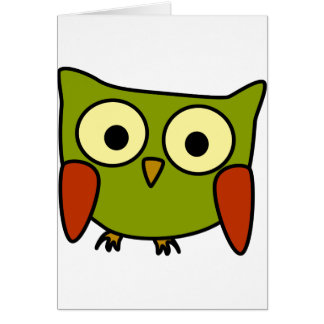 Groovy Owl Greeting Cards