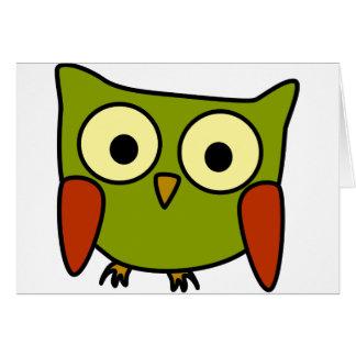 Groovy Owl Card