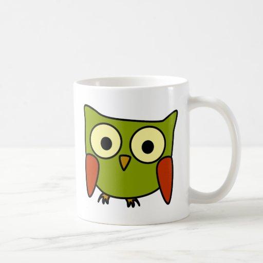 Groovy Owl Classic White Coffee Mug