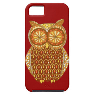 Groovy Owl iPhone 5 Case by Case-Mate