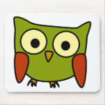 Groovy Owl Mouse Pad
