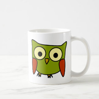 Groovy Owl Coffee Mugs