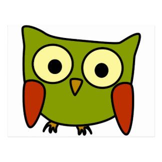Groovy Owl Post Card