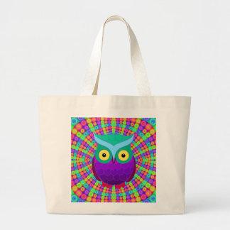 Groovy Owl Tote Bag