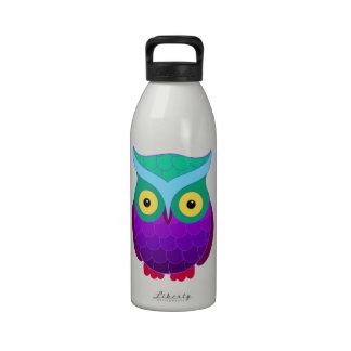 Groovy Owl Drinking Bottle
